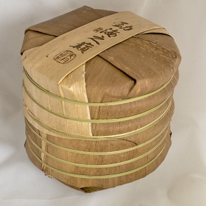bamboo wrapped puer cakes image